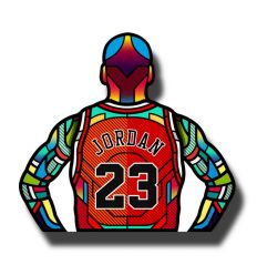MJ 23 EDITION by VAN ORTON