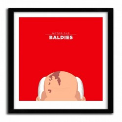 Affiche Notorious Baldie GORBACHEV by Mr Peruca