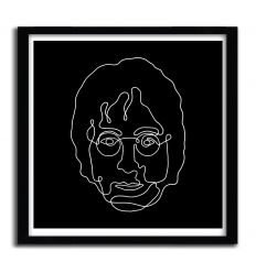 Affiche Lennon par MERUPA