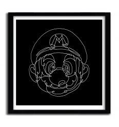 Affiche Mario Bros par MERUPA
