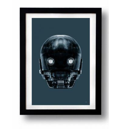 Affiche STAR DROID par Rubiant