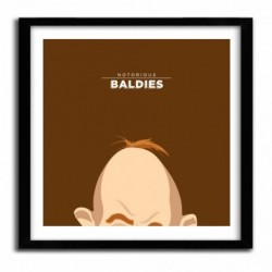 Affiche Notorious Baldie SLOTH - THE GOONIES by Mr Peruca