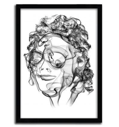 Art print viper by OCTAVIAN MIELU