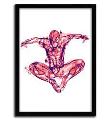 Affiche spiderman par OCTAVIAN MIELU