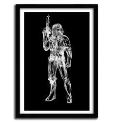 Affiche stormtrooper par OCTAVIAN MIELU