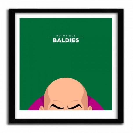 Affiche Notorious Baldie LEX LUTHOR by Mr Peruca