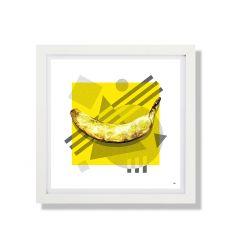 Affiche LAMDA BANANA par RUBIANT
