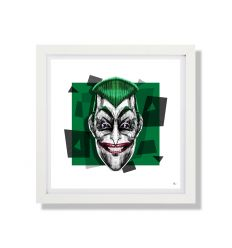 Affiche DAFT FACE FULL COLOR 1 SQ SQ by Rubiant