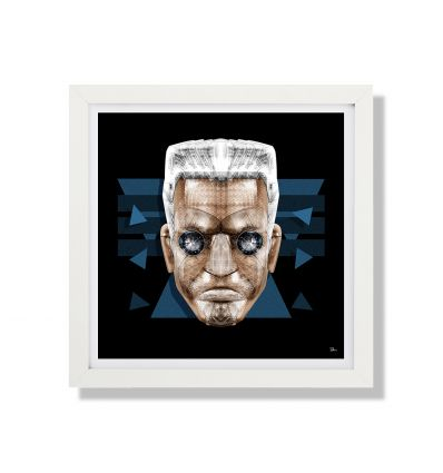 Affiche BATOU Ghost in The Shell by Rubiant