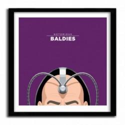 Affiche Notorious Baldie PROFESSOR X by Mr Peruca