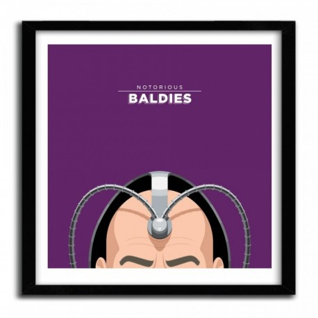 Notorious Baldie PROFESSOR X by Mr Peruca