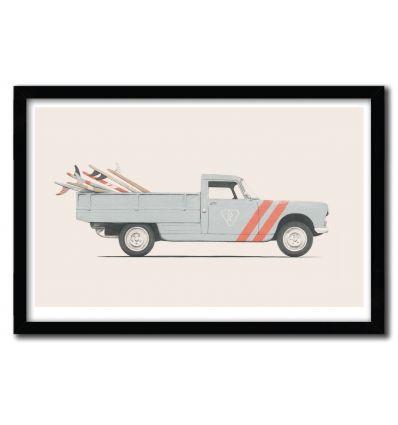 Affiche pickup by Florent Bodart