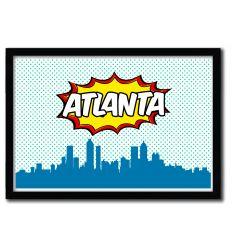 Affiche Atlanta par OCTAVIAN MIELU