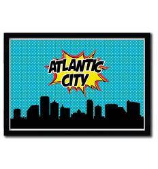 Affiche ATLANTA CITY par OCTAVIAN MIELU