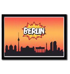Affiche Berlin par OCTAVIAN MIELU