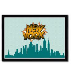 Affiche New York par OCTAVIAN MIELU