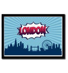 Affiche London par OCTAVIAN MIELU