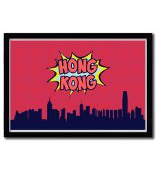 Affiche Honk Kong par OCTAVIAN MIELU