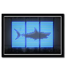 Affiche shark par OCTAVIAN MIELU