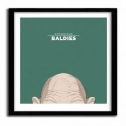 Affiche Notorious Baldie GOLLUM by Mr Peruca
