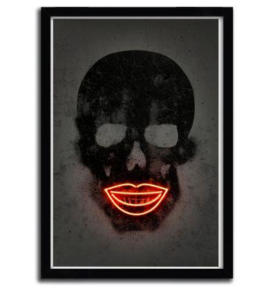 Affiche skull par OCTAVIAN MIELU