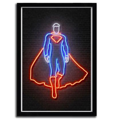 Affiche superman par OCTAVIAN MIELU
