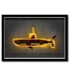 Affiche yellow submarine par OCTAVIAN MIELU