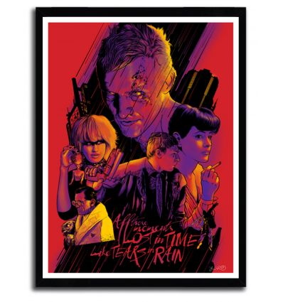 Affiche Blade Runner par JOSHUA BUDICH