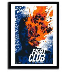 Affiche fight club par JOSHUA BUDICH