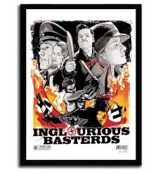 Affiche inglorious bastard par JOSHUA BUDICH