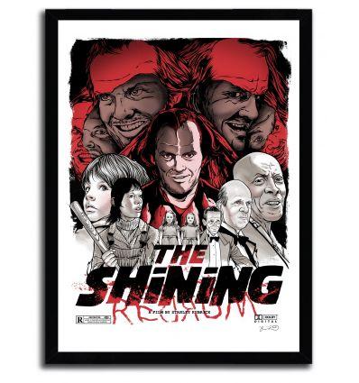 Affiche the shinning par JOSHUA BUDICH