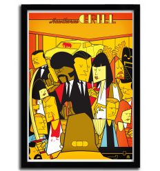 Affiche Pulp Fiction 2 par Ale Giorgini