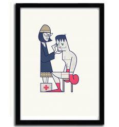 Affiche Rocky par Ale Giorgini