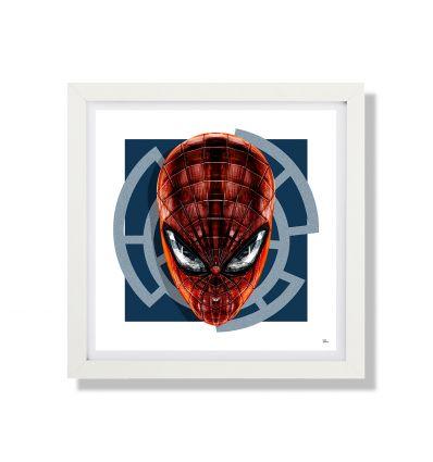 Affiche THE SPIDER SQ par RUBIANT