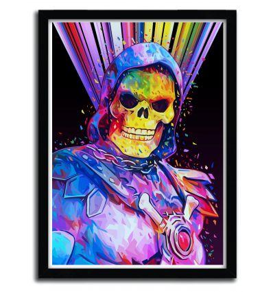 Affiche skeletor par Alessandro Pautasso