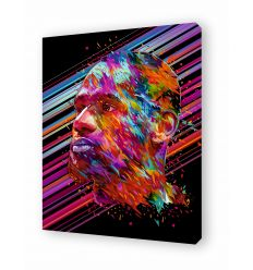 Canvas LEBRON JAMES by Alessandro Pautasso