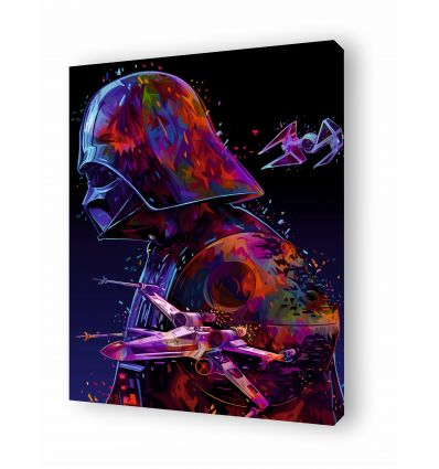Canvas STAR WARS by Alessandro Pautasso