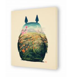Canvas TOTORI NO TOTORO by VictorsBeard