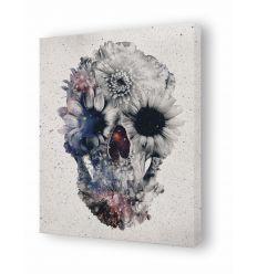 Tableau floral skull 3 par Ali Gulec