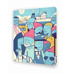 Canvas ZISSOU by Ale Giorgini