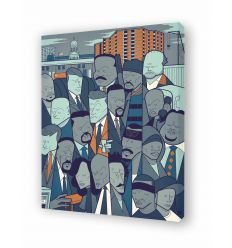 Canvas THE WIRE by Ale Giorgini