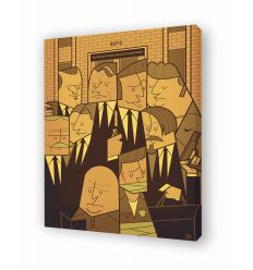 Canvas RESERVOIR DOG by Ale Giorgini