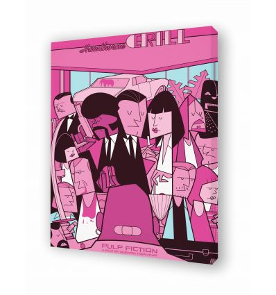 Canvas PULP FICTION by Ale Giorgini