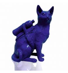 Sculpture Cat with pet Bottle by SWEETLOVE