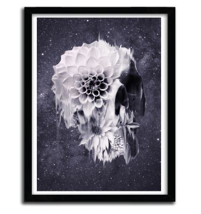 Affiche decay skull par ALI GULEC