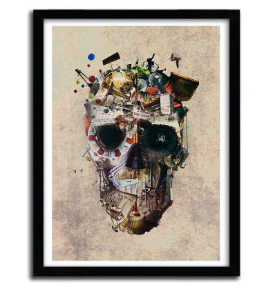 Affiche istambul skull par ALI GULEC