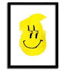 Affiche smiley par ALI GULEC