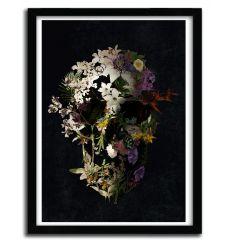 Affiche spring skull 2 par ALI GULEC