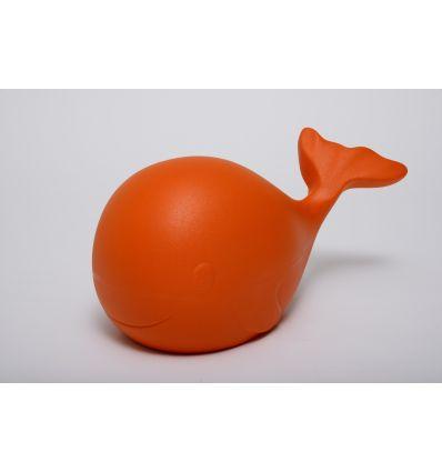 Sculpture The rainbow whale Orange Small by Carlo Rizzetti