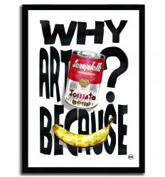 Affiche ARTPRINT POP ART par Rubiant
